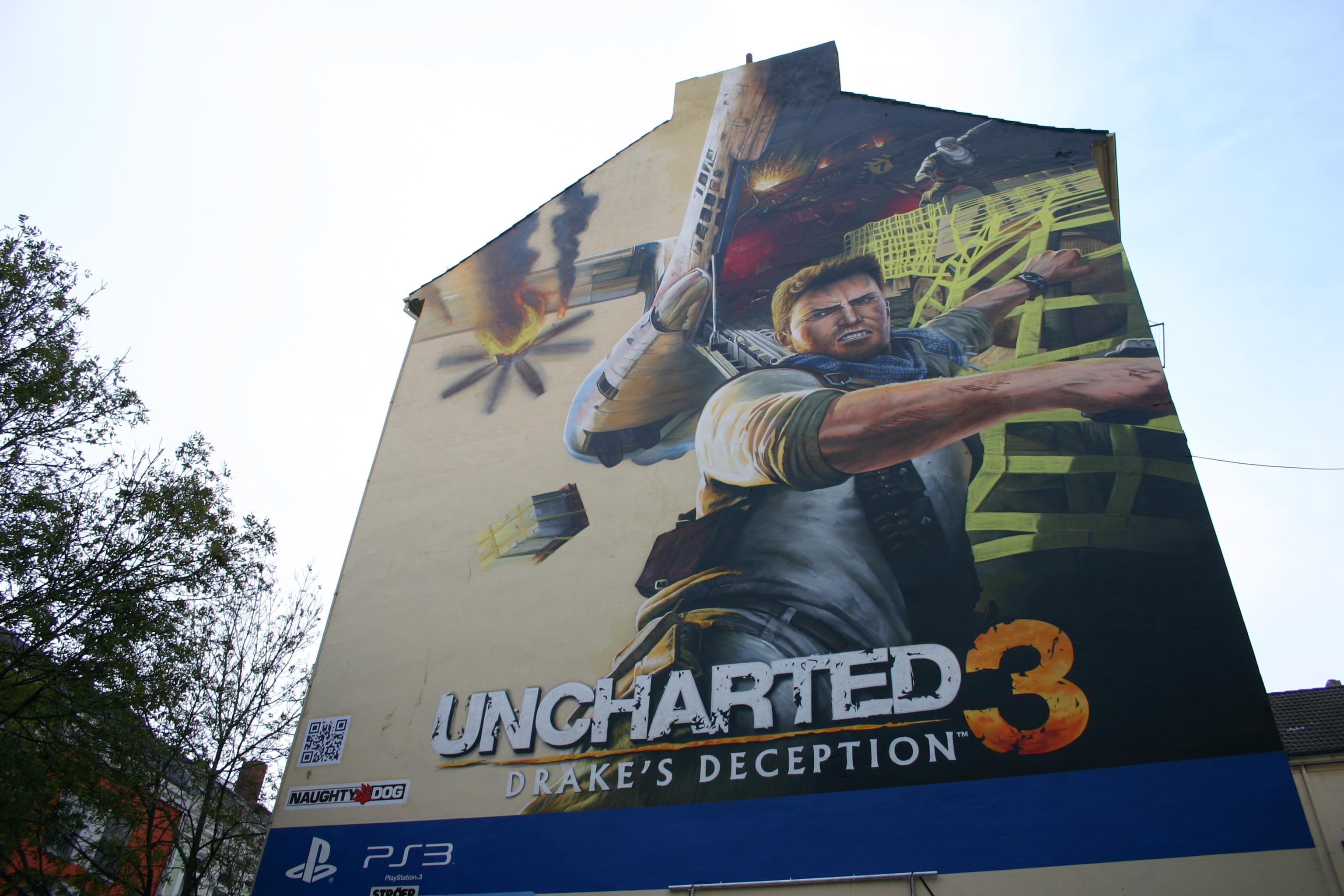 Bild von Graffiti-Projekt Uncharted 3