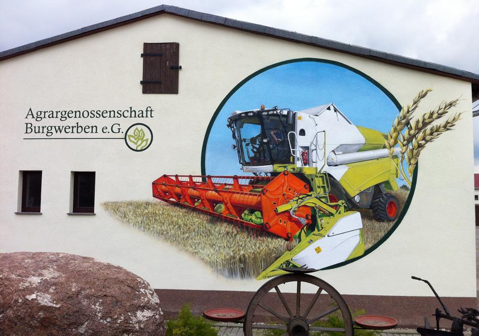 Agrargenossenschaft e.G. Burgwerben